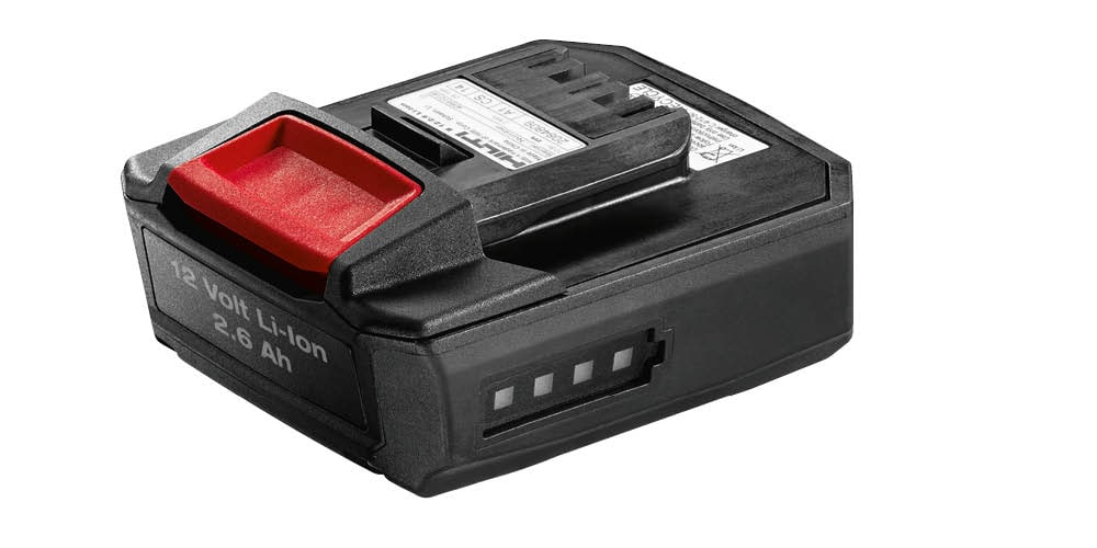 Hilti Battery pack B 12/2.6 for 12 volt cordless tools