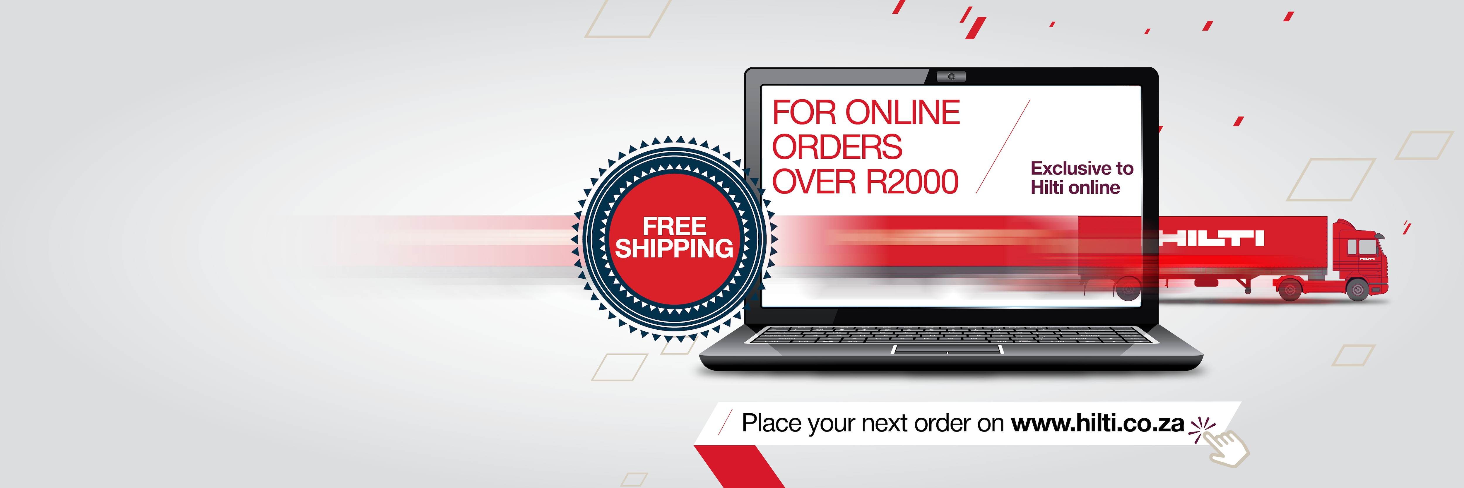 Free Shipping on Hilti Online