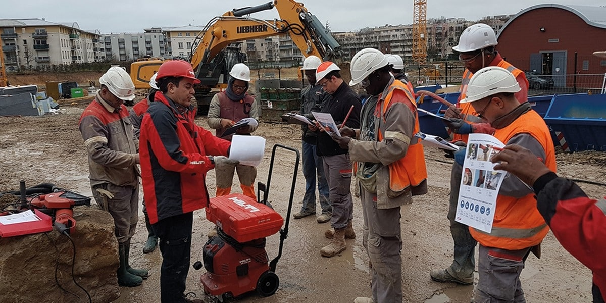 Hilti and Eiffage IDF1