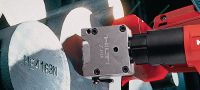 DX 462 HM Fully automatic, high-productivity, powder-actuated tool for marking on cold and hot metal surfaces Applications 1