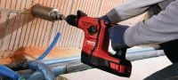 TE 6-A36 Cordless rotary hammer Versatile 36 V cordless rotary hammer for superior performance Applications 5