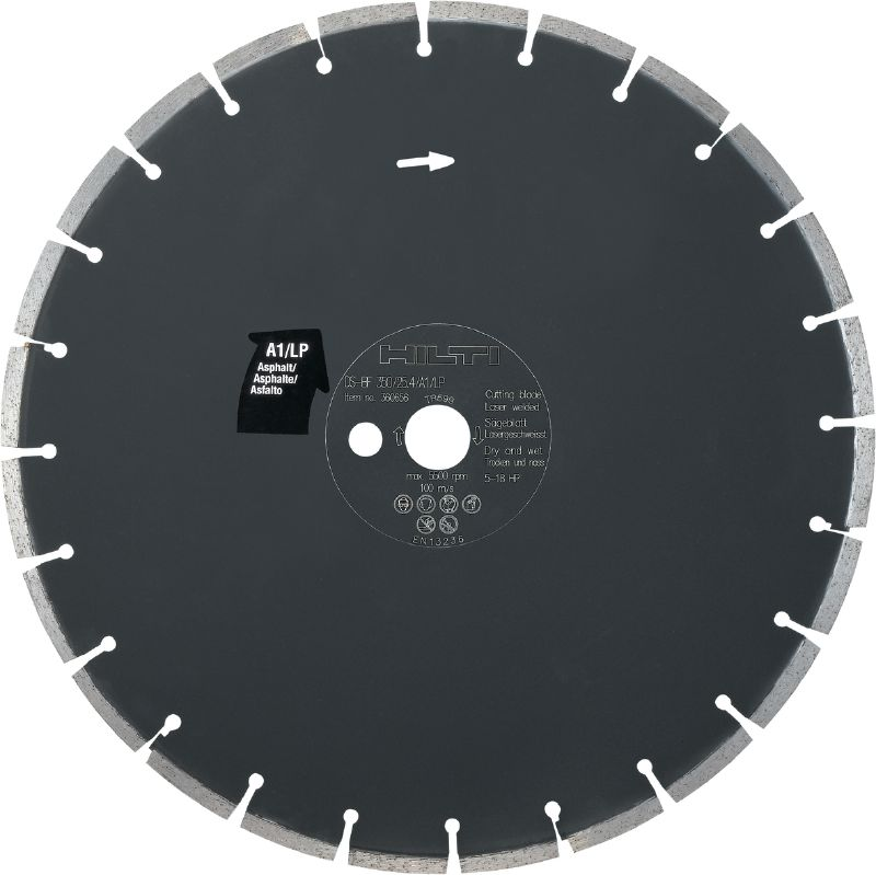 DS-BF A1/LP Floor saw blade