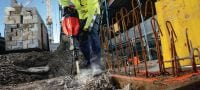TE 1000-AVR Versatile TE-S demolition hammer for concrete floor breaking and occasional wall chiseling Applications 1