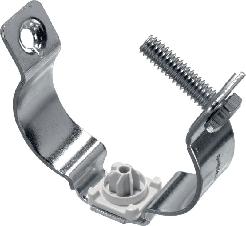 X-EMTSC MX Metal cable/conduit standoff clamp with screw closing for use with collated nails
