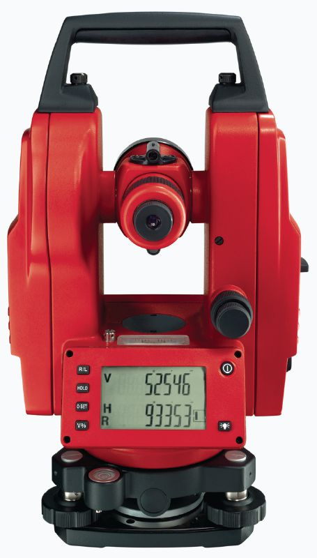 POT 10 Theodolite for levelling and aligning structural components and slopes with 30x magnification